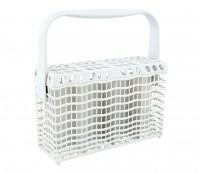 Biely košík na príbory do umývačky riadu AEG, Electrolux a Zanussi