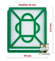 Hepa filter JOLLY HF3 do vysávača ELECTROLUX Clario 2