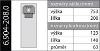 Vrecká 6.904-208 do vysávača Kärcher