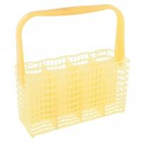 Žltý kôš na príbor do umývačky riadu REX a Zanussi